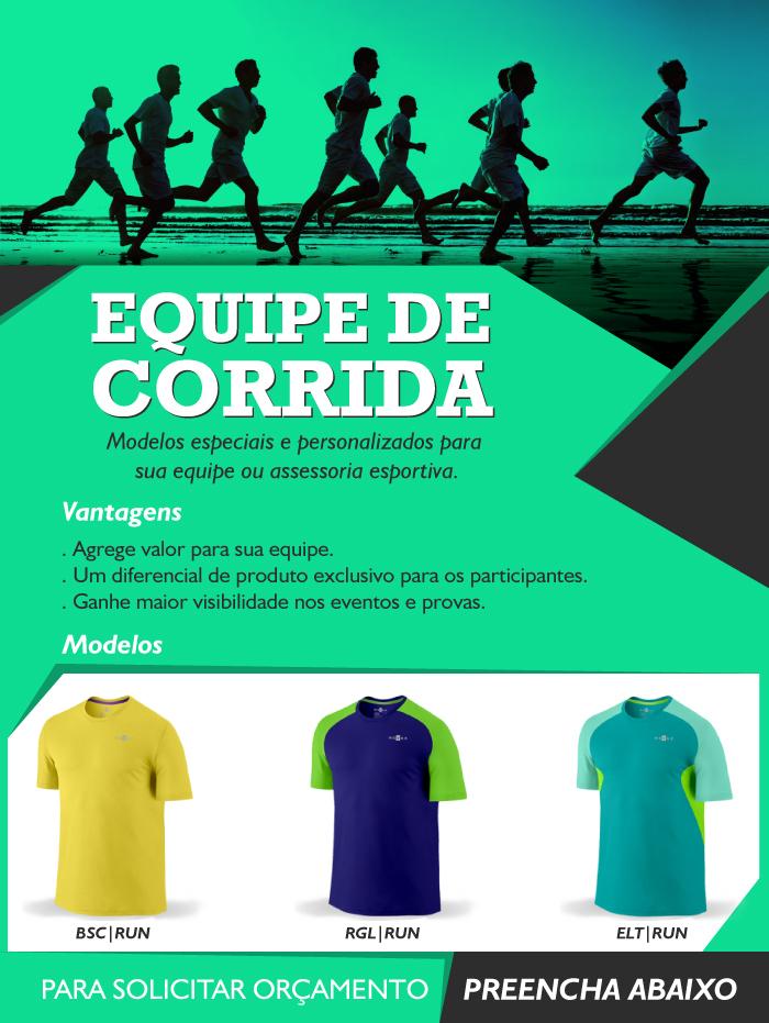 Camiseta para Equipe de Corrida